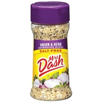 Mrs Dash Onion & Herb Blend Salt Free 2.5 oz