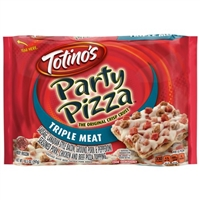 Totinos Party Pizza Triple Meat 9 oz