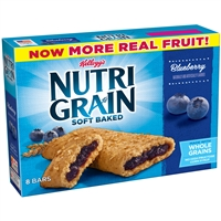 Nutri Grain Blueberry Bars  8 ct 10.4 oz