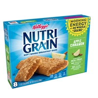 Nutri Grain Apple Cinnamon Bars  8 ct 10.4 oz