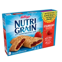 Nutri Grain Strawberry Bars  8 ct 10.4 oz