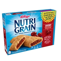 Nutri Grain Cherry Bars  8 ct 10.4 oz