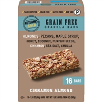 Autumn's Gold GF Cinnamon Almond Bars  16 ct