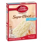 Betty Crocker Super Moist White Cake Mix, 16.25 oz