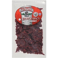 Old Trapper Hot & Spicy Beef Jerky, 10 Oz.