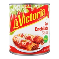 La Victoria Traditional Red Enchilada Sauce Mild, 28 Ounce