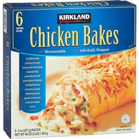 Kirkland Signature Chicken Bakes, 8 oz, 6 ct