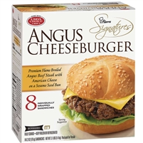 Pierre Signatures Angus Cheeseburger, 6.2 oz, 8 ct