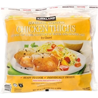 Kirkland Chicken Thighs, Boneless Skinless, 6.5 lbs