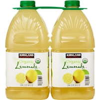 Kirkland Signature Organic Lemonade, 96 oz, 2 ct