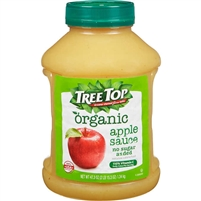 Tree Top Organic Applesauce, No Sugar Added, 47.3 oz
