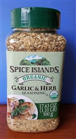 Spice Islands Organic Garlic & Herb Seasoning 17.63 oz