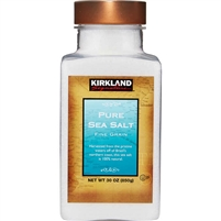 Kirkland Signature Pure Sea Salt, 30 oz