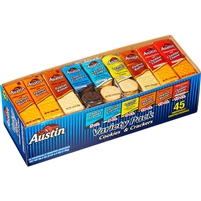 Austin Cookies & Crackers, Variety, 45 ct
