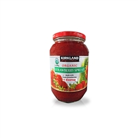 Kirkland Signature Organic Strawberry Spread - 42 Oz