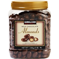Kirkland Milk Chocolate Covered Almonds, 48 oz