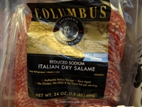 Columbus Low Sodium Salami 2/16oz