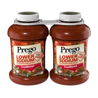 Prego Lower Sodium Traditional Italian Sauce, 67 oz, 2-count
