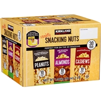 Kirkland Snacking Nuts, Variety, 1.6 oz, 30 ct