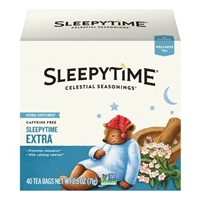 Celestial Seasonings Sleepytime Extra Wellness Tea, 40 Count Box