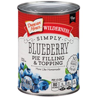 Wilderness Simply Blueberry Pie Filling & Topping, 21 oz
