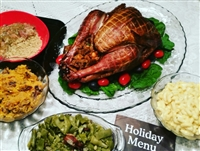 Holiday Smoked Turkey Dinner 4-6 Guests