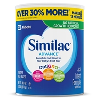 Similac Advance Infant Formula with Iron, Powder, 30.8oz