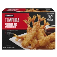 Kirkland Signature Shrimp Tempura 30 ct/ 2.35lb