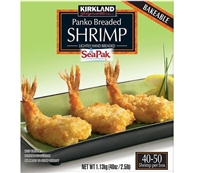 Kirkland Breaded Panko Shrimp 30-40ct / 2.5lbs