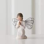 DEMDACO WILLOW TREE FIGURINE - ANGEL OF PRAYER