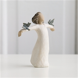 Demdaco Willow Tree Figurine - Happiness