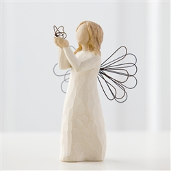 Demdaco Willow Tree Figurine - Angel of Freedom