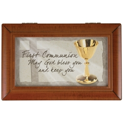 """AMAZING GRACE"" FIRST COMMUNION MUSIC BOX"