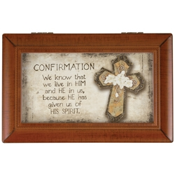 """AMAZING GRACE"" CONFIRMATION MUSIC BOX"