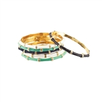 STACKABLE BAMBOO STYLE BRACELETS