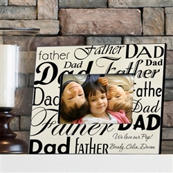 FATHER/DAD FRAME