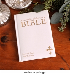 PERSONALIZED CHILD'S FIRST BIBLE