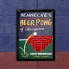 TRADITIONAL BEER PONG PUB SIGN
