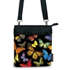 Harold Feinstein Multi-Butterfly Cross-Body Bag & Matching Umbrella