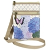 BLUE HYDRANGEA ON THE GO BAG & UMBRELLA SET