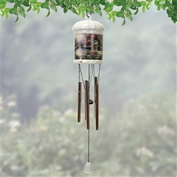 "Thomas Kinkade ""The Garden of Prayer"" Windchime"