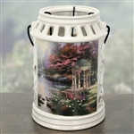 "Thomas Kinkade ""The Garden of Prayer"" Lantern"