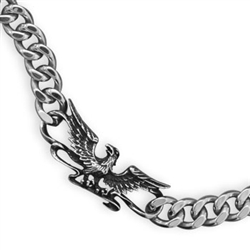 MEN'S EAGLE STAINLESS STEEL BRACELET