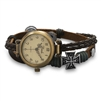 Women's Triple Strand Leather Fashion Watch