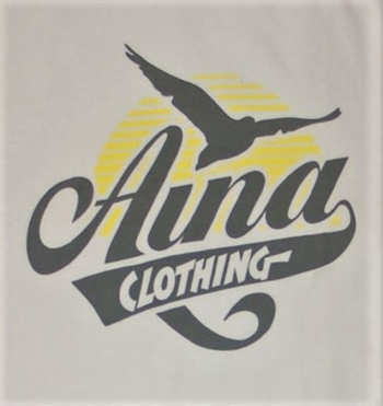 Aina Clothing white organic cotton Gull tshirt