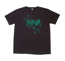 Aina Clothing organic cotton leaf t-shirt