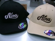 Aina Clothing 3d logo Flexfit organic cotton hat