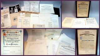 A Business Archive of Fannie Howe, Engrosser, with Samples of her Work in Various stages 1960sPhiladelphia