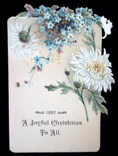 1897, A Joyful Christmas to All Menu for the Hotel Colson..