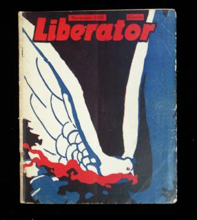 Liberator, November 1918 Edition, Vol. 1 No. 9. Liberator Publishing Company.New York.6880